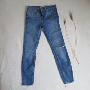 NEW Zara Ripped Jeans